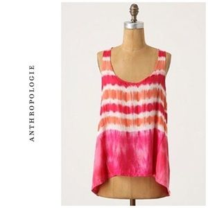 Anthropologie | Ben and Lucia Silk Tie Dye Tank
